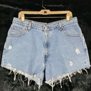Vintage 90's Levis 15 Shorts Cut Off Distressed